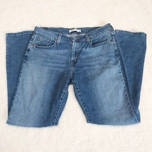 Levi's 515 bootcut studded Jeans 10 short  10s